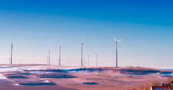 风能发电高清背景图片素材下载