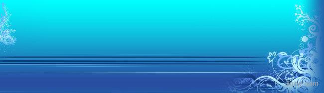 蓝色花纹质感背景banner背景高清大图-花纹背景底纹/肌理