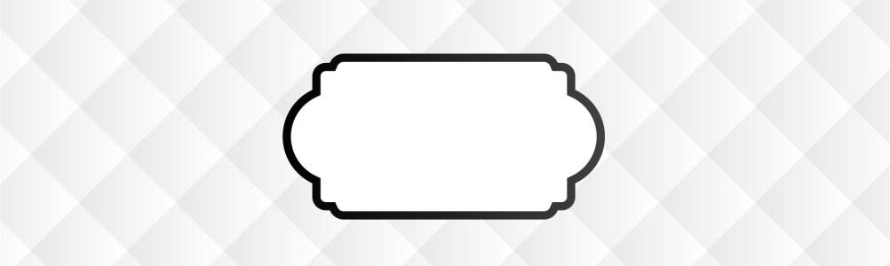 白色菱形格banner背景