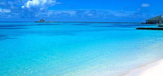 海边旅游景区背景高清背景图片素材下载