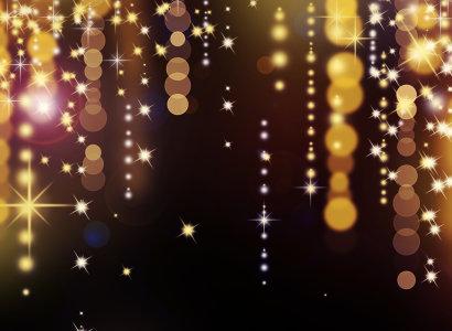 圣诞节金光闪闪背景高清背景图片素材下载