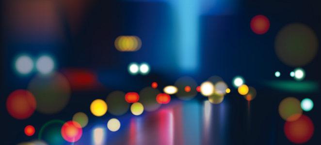夜景光点璀璨城市背景banner高清背景图片素材下载