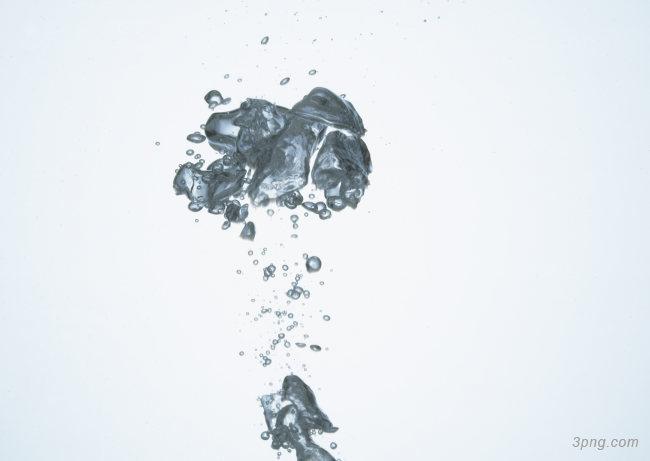 清澈的水背景高清大图-清澈背景底纹/肌理