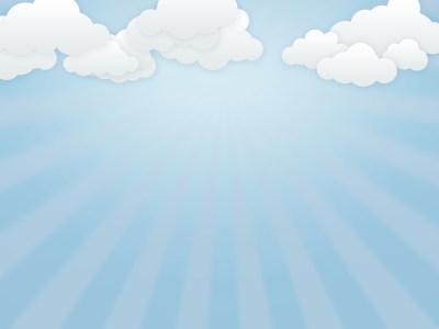 多云天空卡通背景高清背景图片素材下载