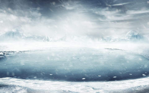 冬天雪景背景高清背景图片素材下载