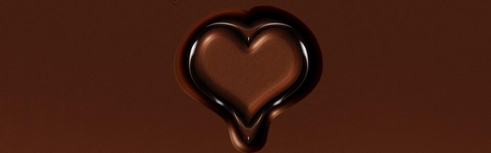 精致巧克力背景