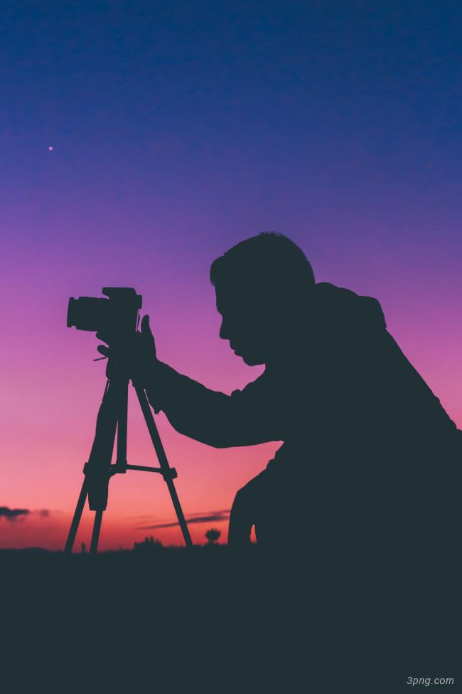 摄影师人物背景高清大图-摄影师背景城市建筑