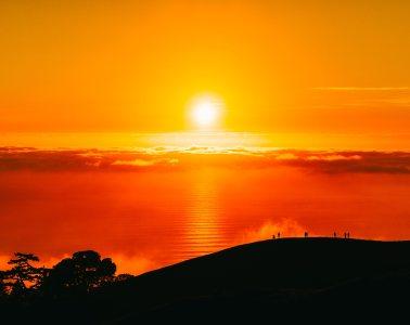 日出日落高清背景图片素材下载