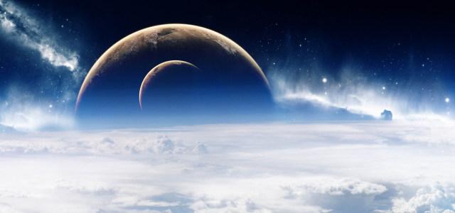 大气星空云海高清背景图片素材下载