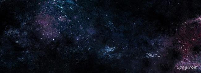 黑色宇宙星空背景banner背景高清大图-宇宙背景Banner海报