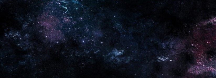 黑色宇宙星空背景banner高清背景图片素材下载