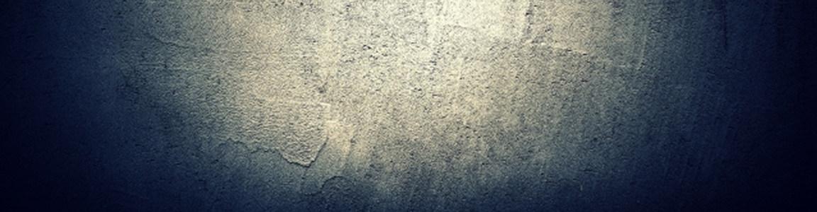 光效下的水泥墙