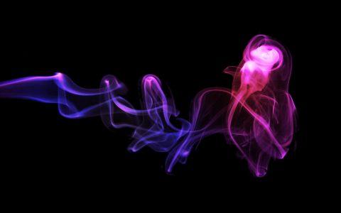 抽象彩色烟雾高清背景图片素材下载