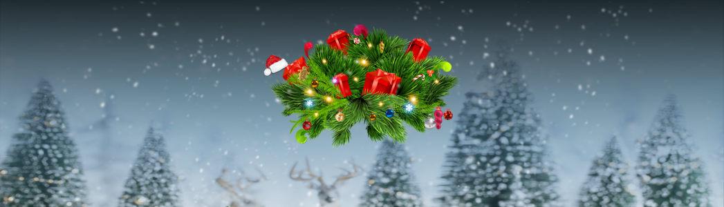 圣诞节海报高清背景图片素材下载
