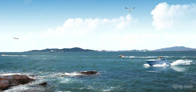港口背景背景高清大图-港口背景人物