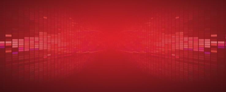 红色科技背景