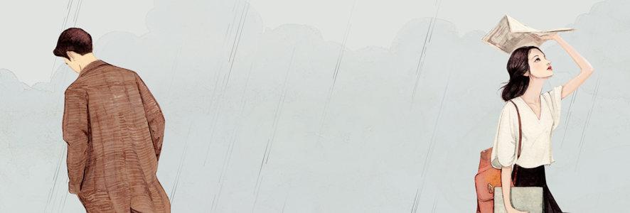 手绘banner高清背景图片素材下载