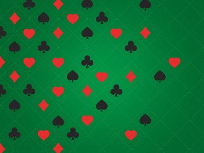 赌场符号图案背景