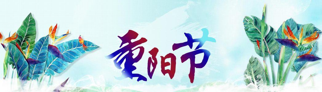 重阳节展板banner背景高清背景图片素材下载