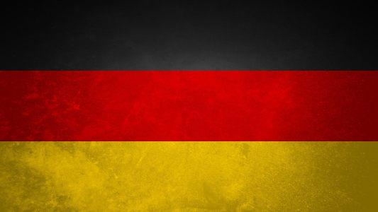 德国国旗纹理背景