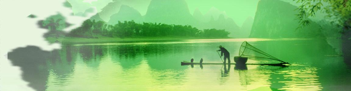 江南风景背景高清背景图片素材下载