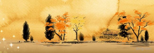 秋天背景背景高清大图-秋天背景自然/风光