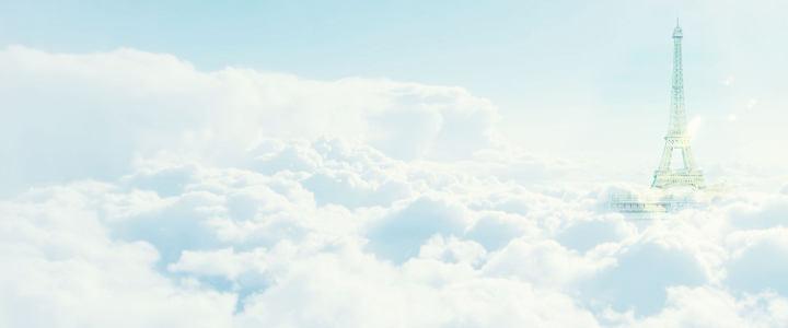 淘宝天空海报高清背景图片素材下载