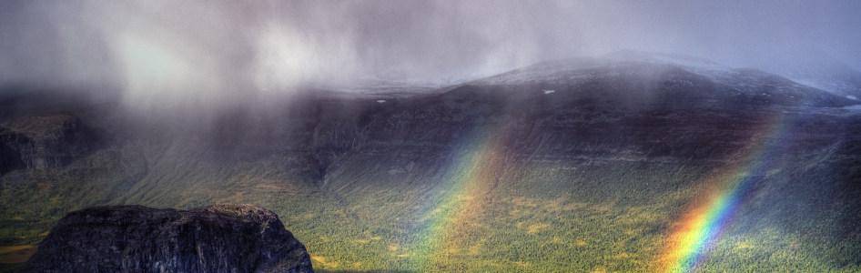 彩虹摄影banner壁纸