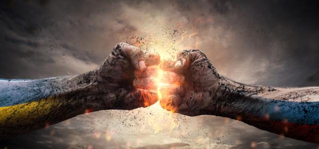 拳头对拳头的激情碰撞高清背景图片素材下载