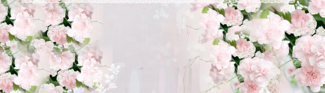 唯美花朵淘宝背景