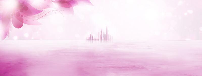 紫色唯美背景
