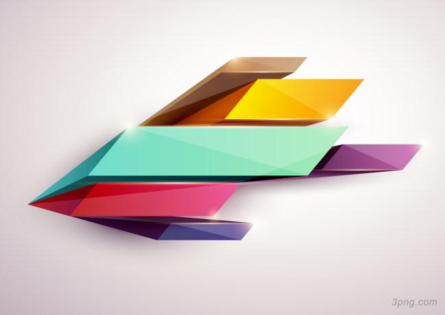 彩色几何图案矢量背景背景高清大图-矢量背景扁平/渐变/几何