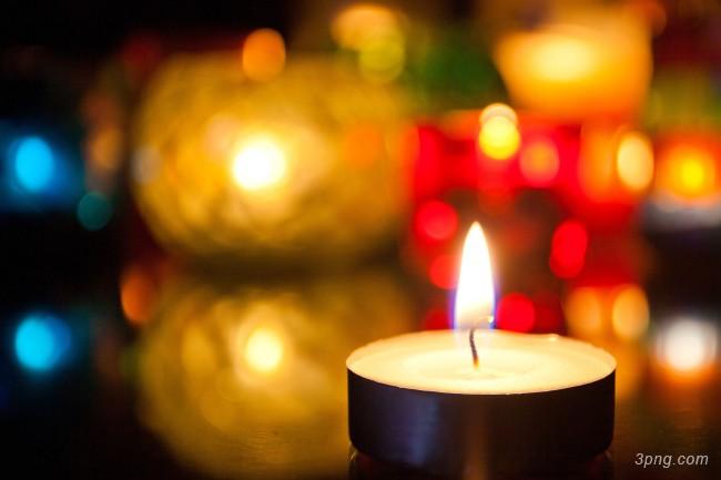 蜡烛烛光背景背景高清大图-烛光背景特效图片