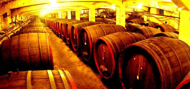 葡萄酒厂酒窖高清背景图片素材下载