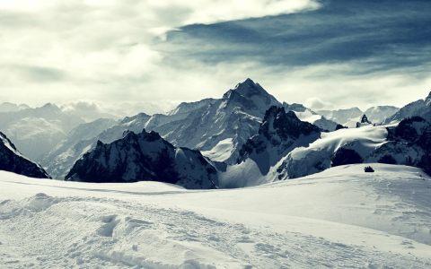 冬季雪景雪地背景高清背景图片素材下载