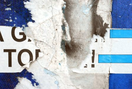 蓝色剥落斑驳的墙壁背景高清背景图片素材下载