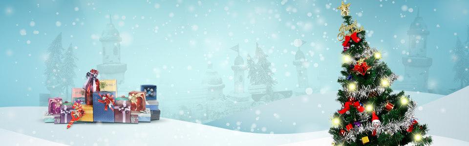圣诞banner高清背景图片素材下载