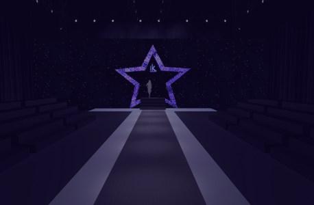 时尚T台舞台背景