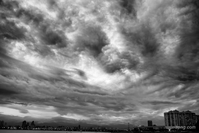 乌云密布背景背景高清大图-乌云密布背景自然/风光