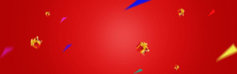 淘宝天猫红色背景