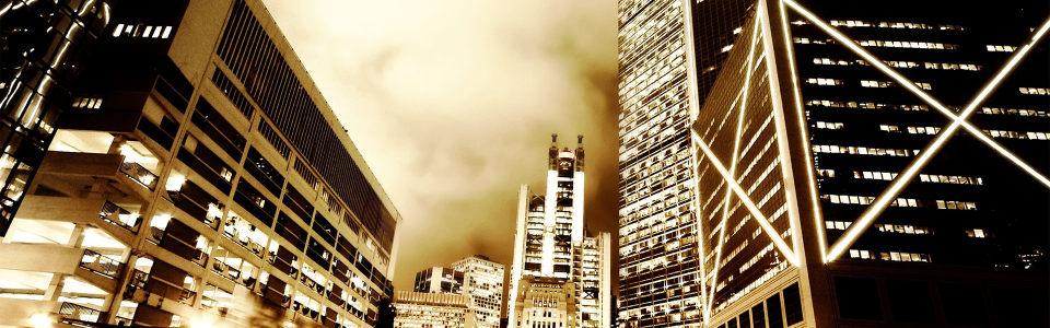 简约大气都市夜景海报背景高清背景图片素材下载