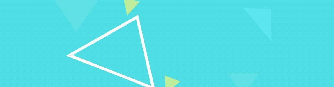 不规则三角形淘宝banner背景图