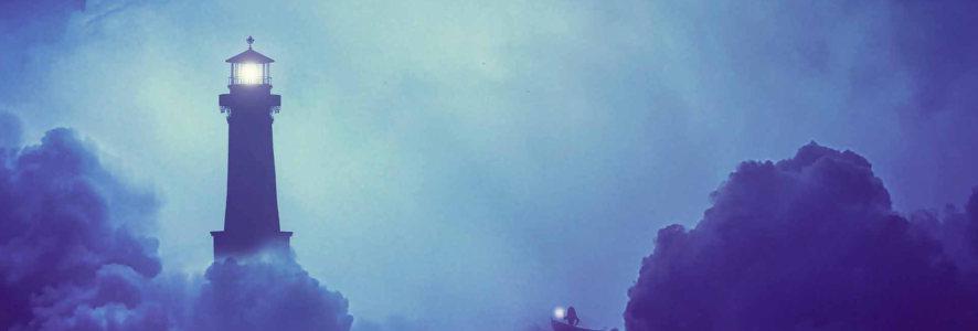 天空唯美夜色banner