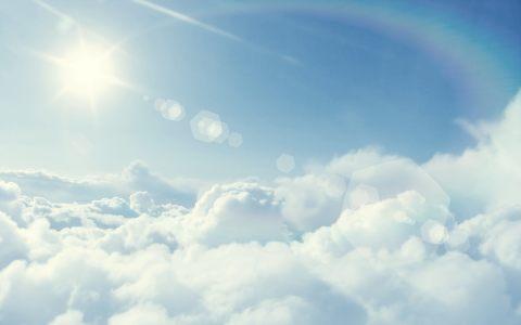 唯美云层高清背景图片素材下载