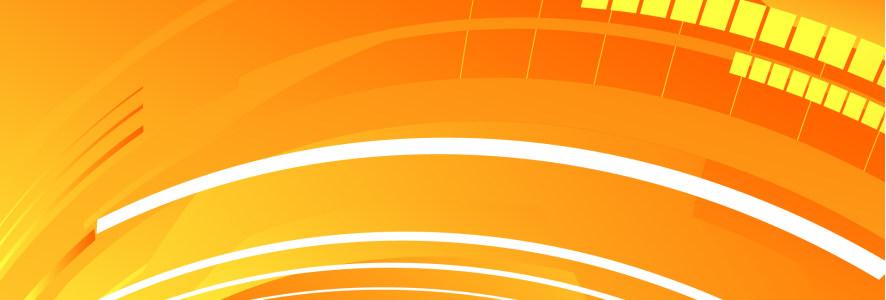 橙色幻彩背景