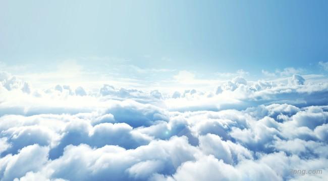 云层之上背景背景高清大图-云层背景自然/风光