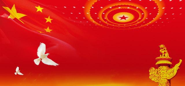 国庆革命党背景banner