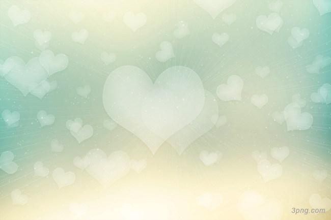 浪漫情人节爱心背景背景高清大图-爱心背景淡雅/清新/唯美