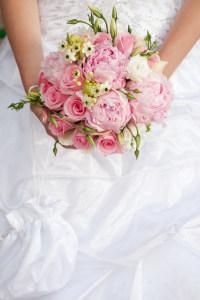 婚礼花束婚纱高清背景
