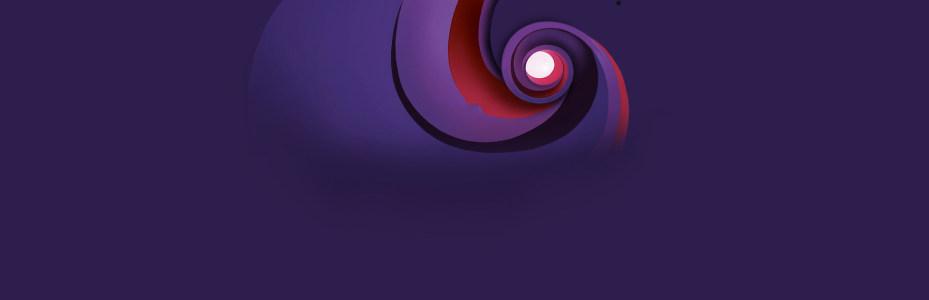 紫色几何纹理背景banner